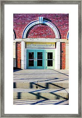 Framed Print featuring the photograph The Paramount Theatre by Colleen Kammerer