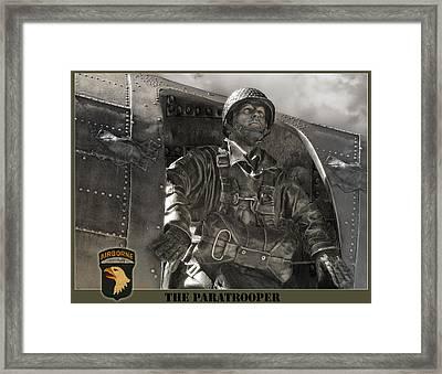 The Paratrooper Framed Print