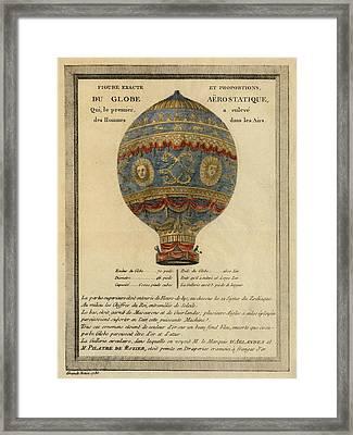 The Paris Ascent Framed Print
