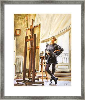The Paris Studio Framed Print by Andy Lloyd
