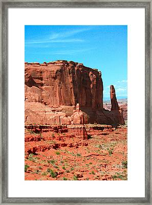 The Park Avenue Courthouse Spectacle Framed Print