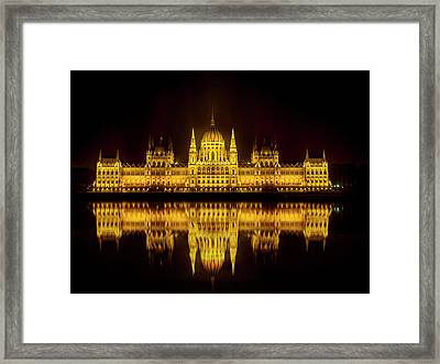 The Parliament House Framed Print