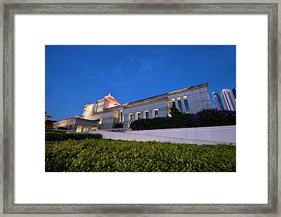 The Parliament Framed Print by Ng Hock How