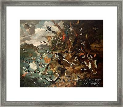 The Parliament Of Birds Framed Print