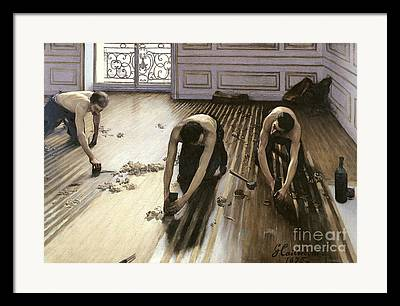Floorboards Framed Prints