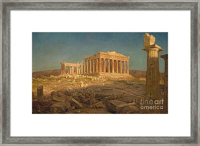 The Parthenon, 1871 Framed Print by Frederic Edwin Church