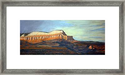 The Parthenon Framed Print by Carl Capps
