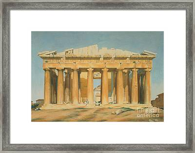 The Parthenon Framed Print by Louis Dupre