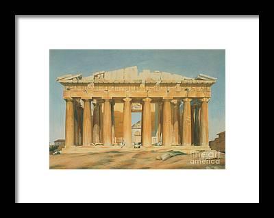 Ancient Greece Framed Prints