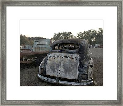 The Party Patrol Framed Print