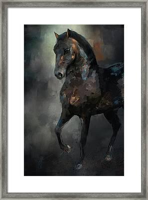 The Paso Fino 3 Horse Art Framed Print by Jai Johnson