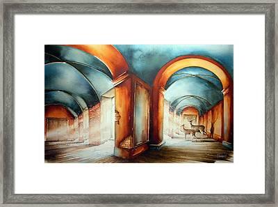 The Passengers Framed Print