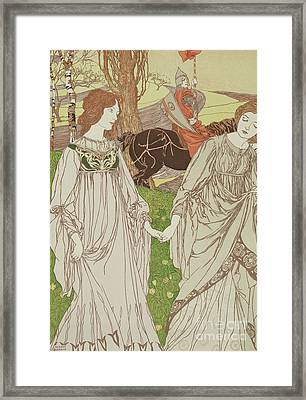 The Passerby Framed Print