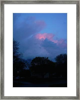The Passing Framed Print by Richard  Hubal