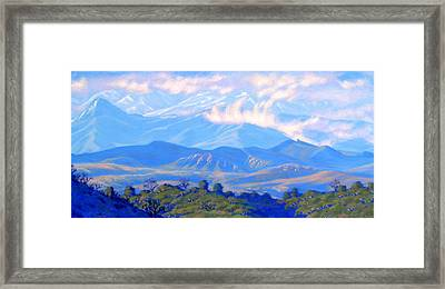 The Passing Storm Framed Print by Elena Roche