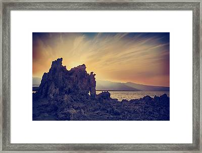 The Passion Framed Print by Laurie Search