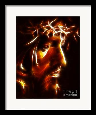 Crucifiction Framed Prints