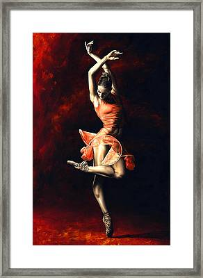 The Passion Of Dance Framed Print by Richard Young