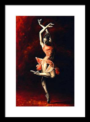 Dramatic Paintings Framed Prints