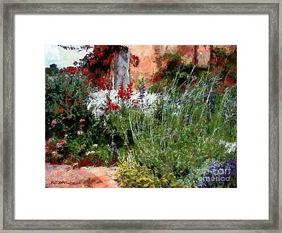 The Passion Of Summer Framed Print by RC DeWinter