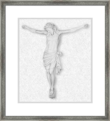 The Passion Of The Christ Framed Print by Tony Rubino