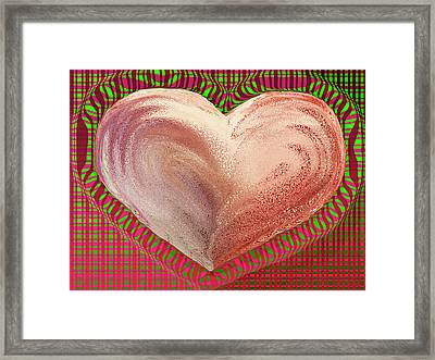 The Passionate Heart Framed Print