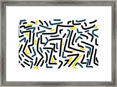 'the Past' Is Picture Based  Framed Print