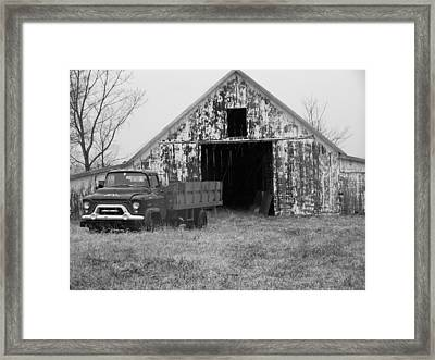 The Past Is Still Here Framed Print by Joseph Norvell