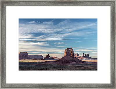Framed Print featuring the photograph The Past by Jon Glaser