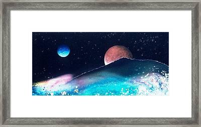 The Pastures Of Mars Framed Print by Lee Pantas