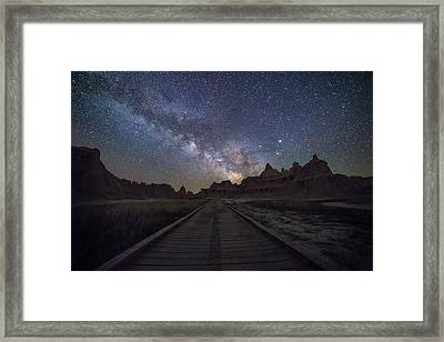 The Path Framed Print by Aaron J Groen