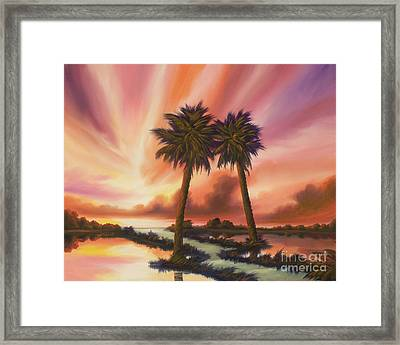 The Path Ahead Framed Print by James Christopher Hill