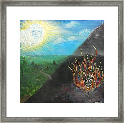 The Path Framed Print by Amy Stewart Hale