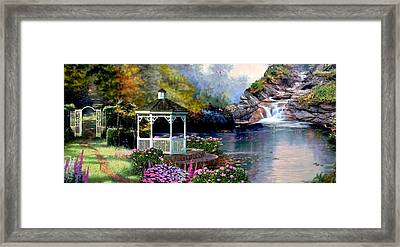 The Path Least Fallowed 2 Framed Print by Ron Chambers