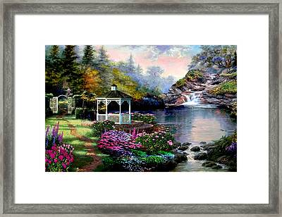The Path Least Followed Framed Print