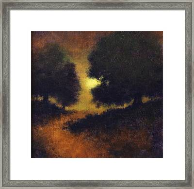 The Path Less Trod Framed Print