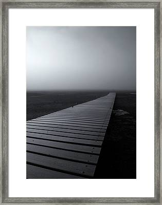 The Path Framed Print by Mike  Dawson