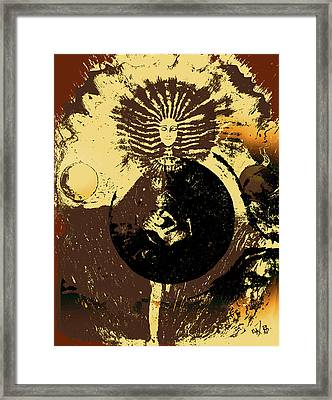 The Path Of Love Strength And Balance Framed Print
