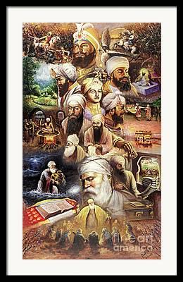 Sikh Art Framed Prints