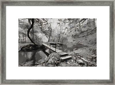 The Path To Nirvana Framed Print