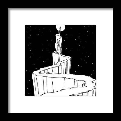 Reach For The Sky Framed Prints
