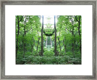 The Path Within Framed Print
