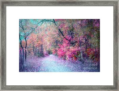 The Pathway Of Gentle Memories Framed Print by Tara Turner