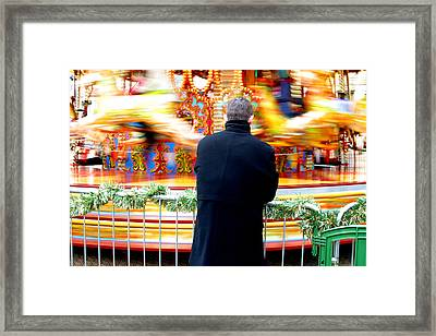 The Patient Father Framed Print by Jez C Self