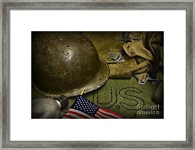 The Patriot Framed Print by Paul Ward