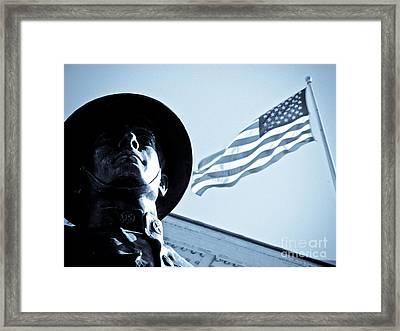 The Patriot Theme Framed Print