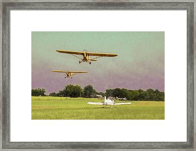 Framed Print featuring the photograph The Pattern Is Full by James Barber