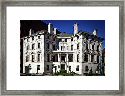 The Patterson House Framed Print