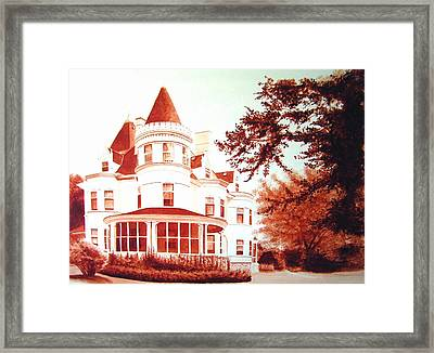 The Patton House Framed Print