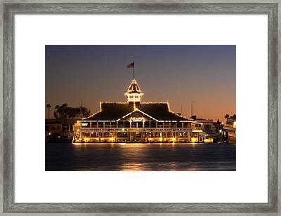 The Pavilion Framed Print by Charlie Hunt